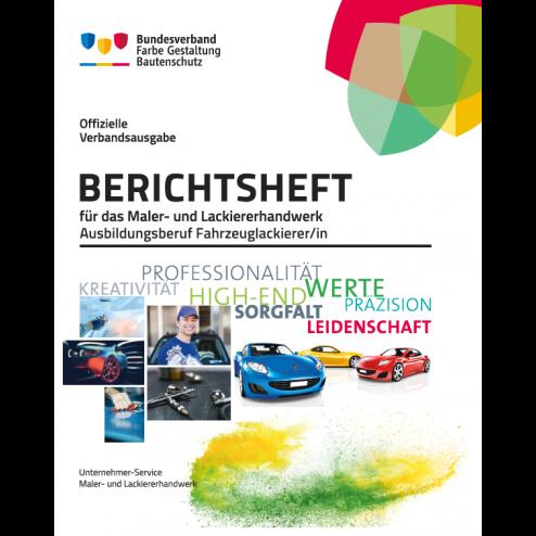 Berichtsheft 1.-3. Ausbildungsjahr mit Ringordner - Fahrzeuglackierer/in
