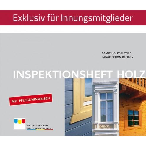 Inspektionsheft Holz (2006)