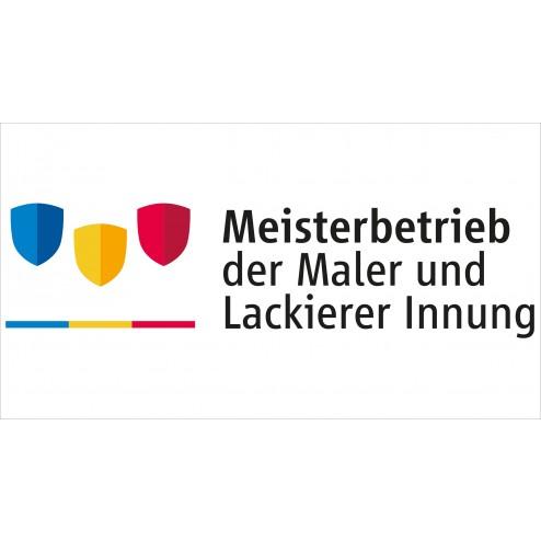 Autoaufkleber Maler - Meisterbetrieb 21x11,5 cm