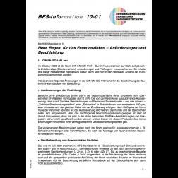 BSF Info zu MB Nr. 5, Neue Regeln für das Verzinken - Anforderungen und Beschichtungen