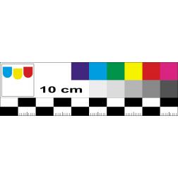 Farbmaßstab zur Fotodokumentation und Bildbearbeitung
