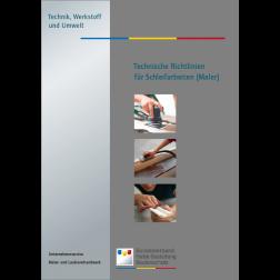 Technische Richtlinien  für Schleifarbeiten (Maler) (2011)