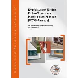 Empfehlungen für den Einbau/Ersatz von Metall-Fensterbänken (WDVS-Fassade) (2011)