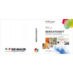 Berichtsheft Ringordner mit Maler-Logo