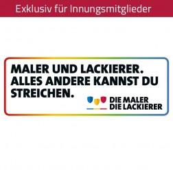 """Aufkleber """"Maler und Lackierer"""""""