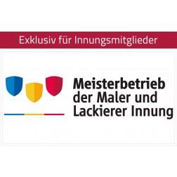 Transfer-/Übertragungsfolie Maler - Meisterbetrieb 40x21,5 cm