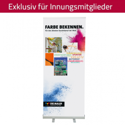 "RollUp-System ""Farbe bekennen"" 85 x 200 cm"