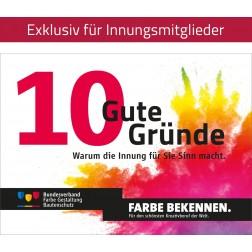 """Broschüre """"10 gute Gründe"""""""