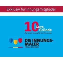 "Pledge Cards ""10 gute Gründe"""