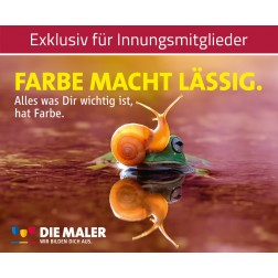 Kampagnen Postkarten - Farbe macht lässig