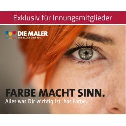 Kampagnen Postkarten - Farbe macht Sinn