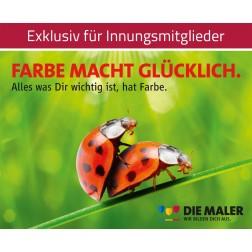 Kampagnen Postkarten - Farbe macht glücklich