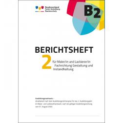Berichtsheft 2. Ausbildungsjahr, Maler/-in (Ausbildungsordnung 2003)