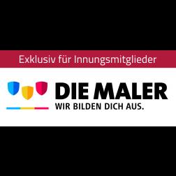 """Logo """"Die Maler – Wir bilden Dich aus"""""""