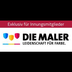 """Logo """"Die Maler – Leidenschaft für Farbe"""""""
