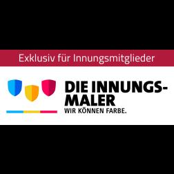 """Logo """"Innungsmaler – Wir können Farbe"""""""