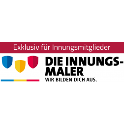 """Logo """"Die Innungsmaler – Wir bilden dich aus."""""""
