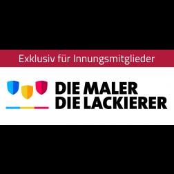 """Logo """"Die Maler – Die Lackierer"""""""