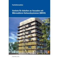 Fachinformation - Gerüste für Arbeiten an Fassaden mit WDVS (DOWNLOAD)