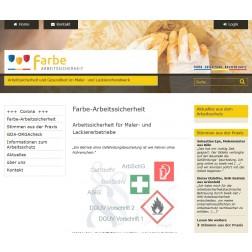 Online-Arbeitsschutzportal farbe-arbeitsschutz.de